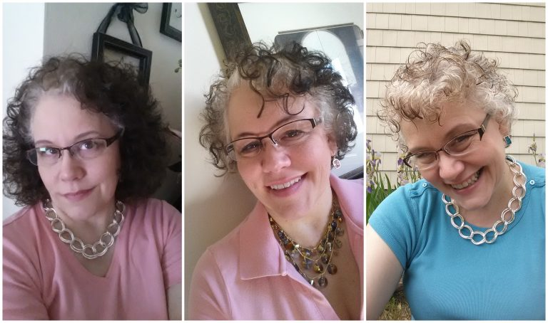 Progression of going gray