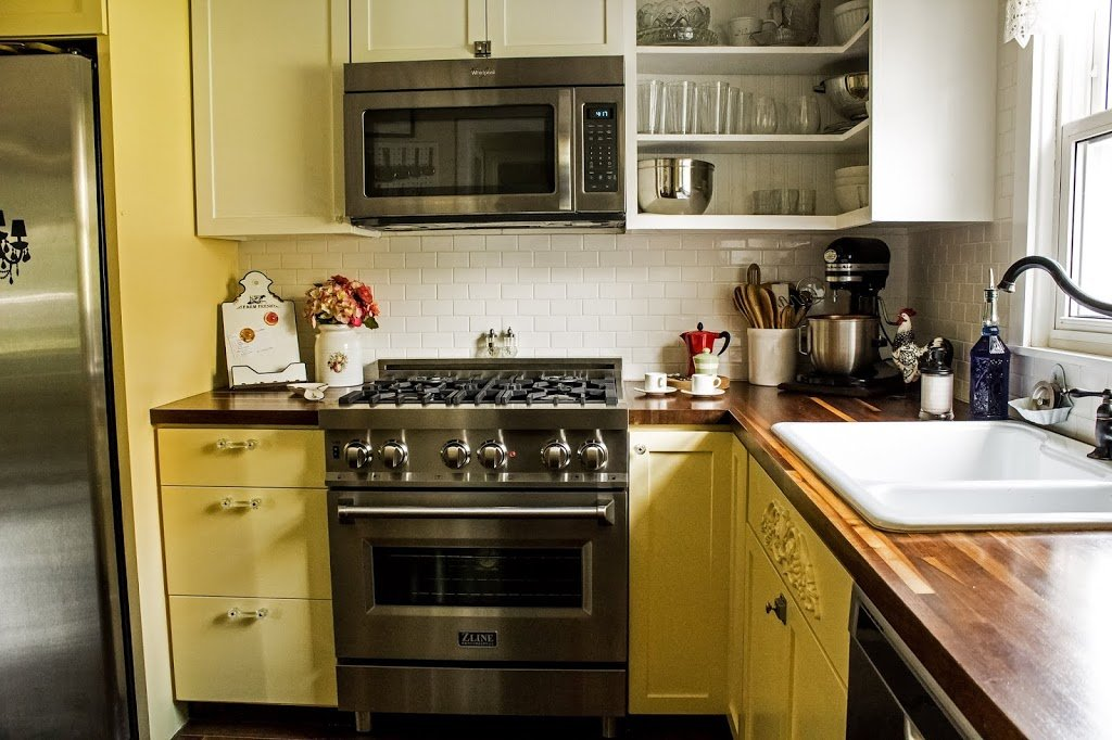 Read more about the article A major upgrade for my yellow kitchen