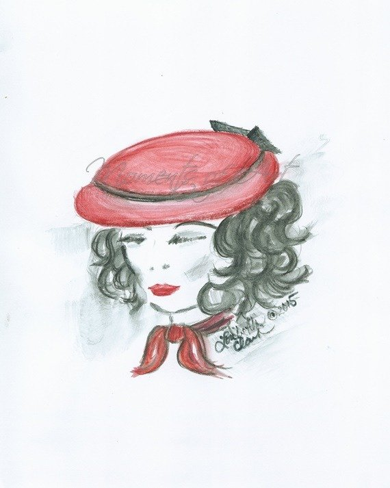 Her Red Hat